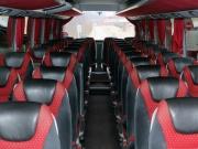Rozkład siedzeń w autokarze